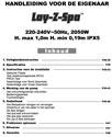 Lay Z Spa Gebruiksaanwijzing