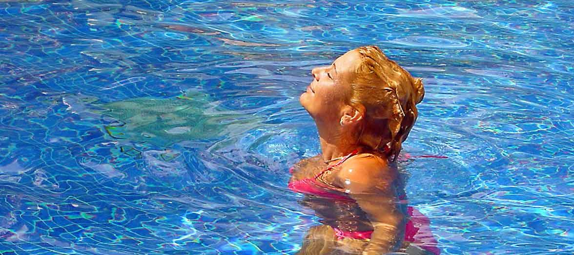 Zwembad artikelen met korting