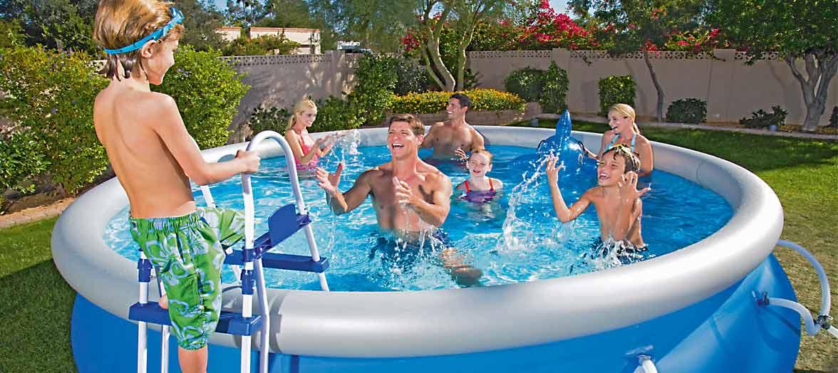 Zwembad voor in de tuin kopen