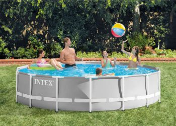 Intex Prism Frame zwembad rond 427 x 107 cm