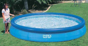 Intex Easy Set zwembad 366 x 76 cm -Met 12-Volt filterpomp