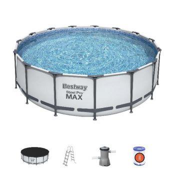 Bestway zwembad steel pro max Rond 457 x 122