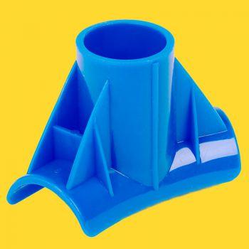 T stuk Sirocco blauw 450x90