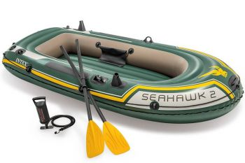 Intex Seahawk 2 Set - Tweepersoons opblaasboot