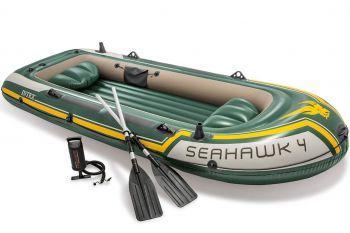 Intex Seahawk 4 Set - Vierpersoons opblaasboot