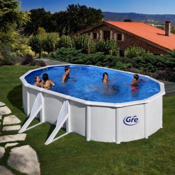 Groot opbouw zwembad