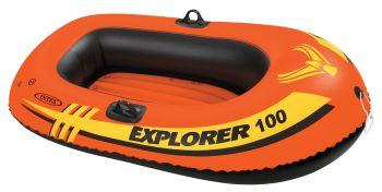 Intex Opblaasboot Explorer Pro 100 éénpersoons