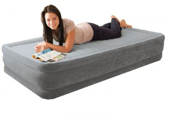 Intex Comfort Plush 1 persoons luchtbed