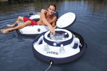 koelbox voor op het water