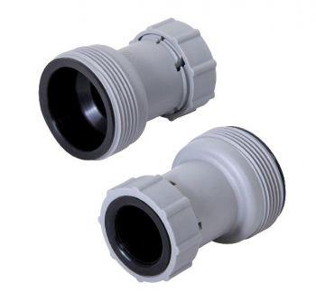 verloopstuk 32/38 mm filterpomp slang