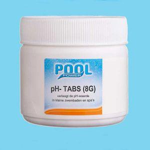 pH-, pH min, pH minus tabs